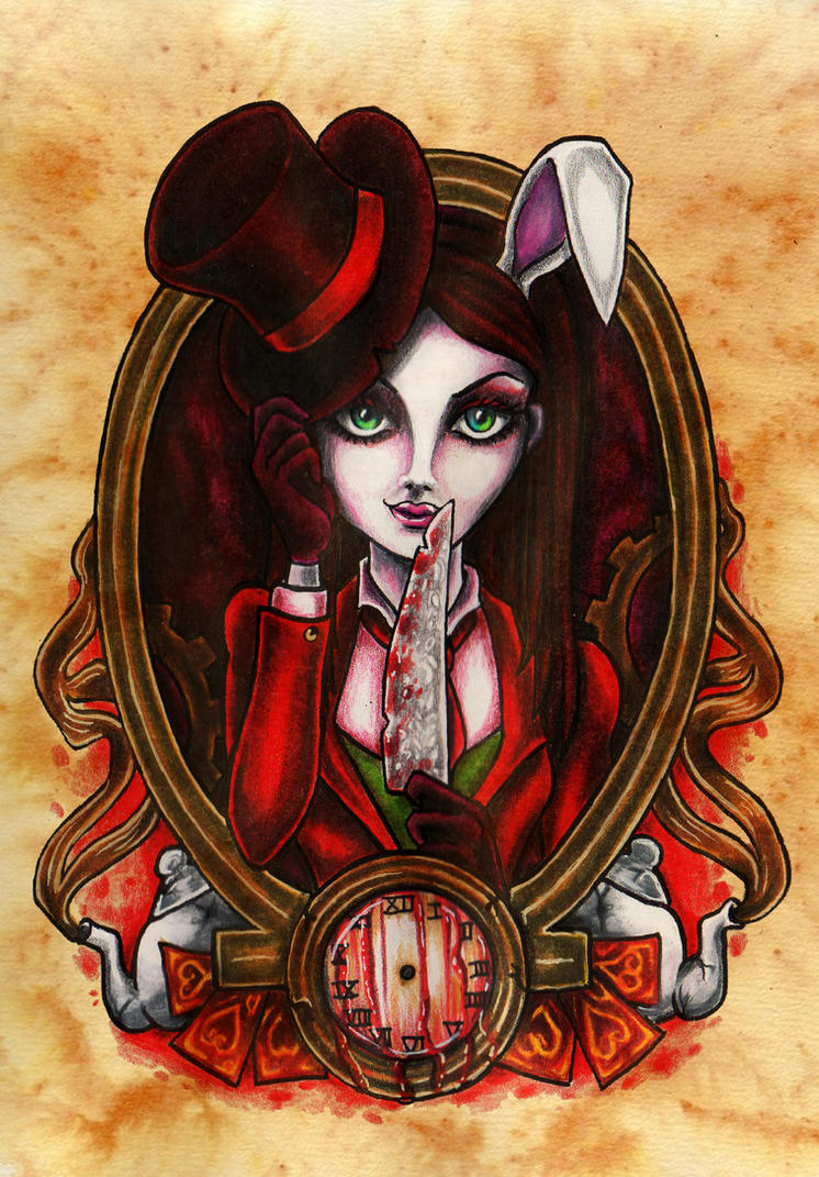 Alice : Madness Returns, White Rabbit by anatane