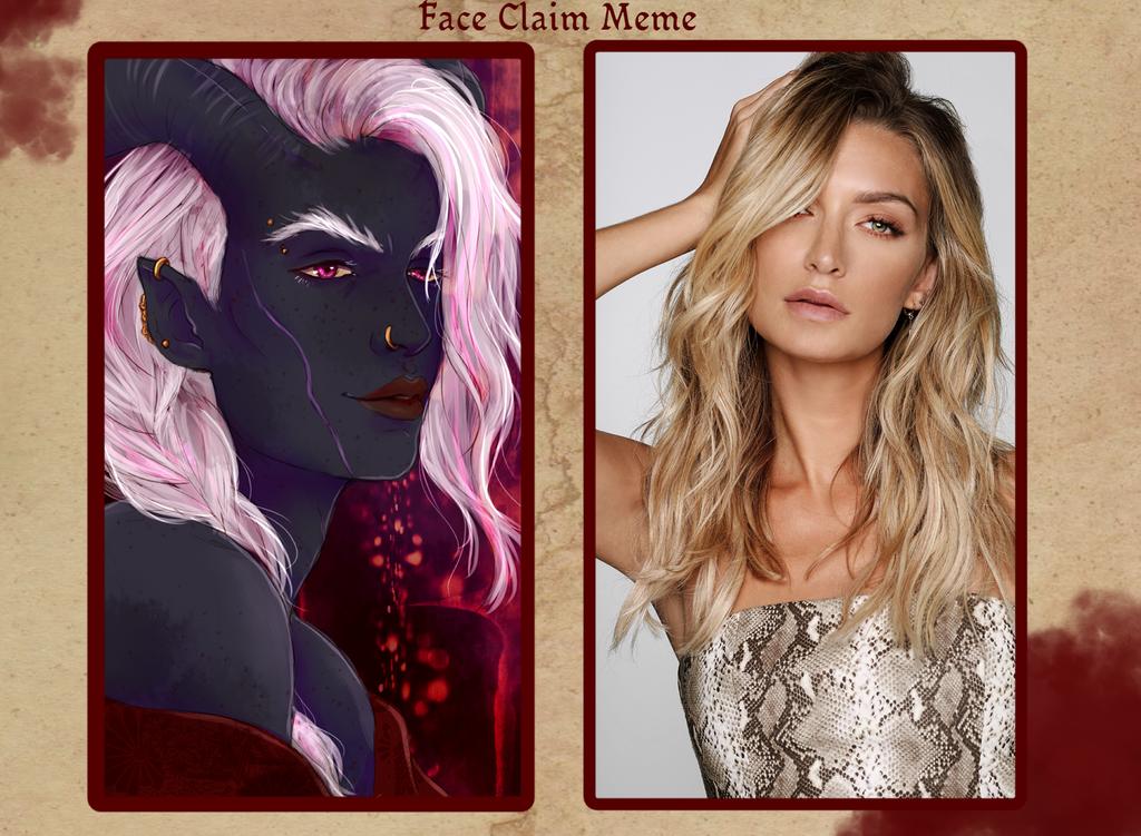 Verena - Faceclaim Meme by Silieth