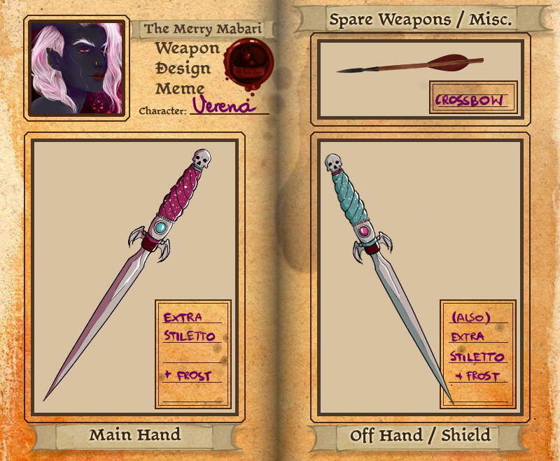 Weapon Meme - Verena by Silieth