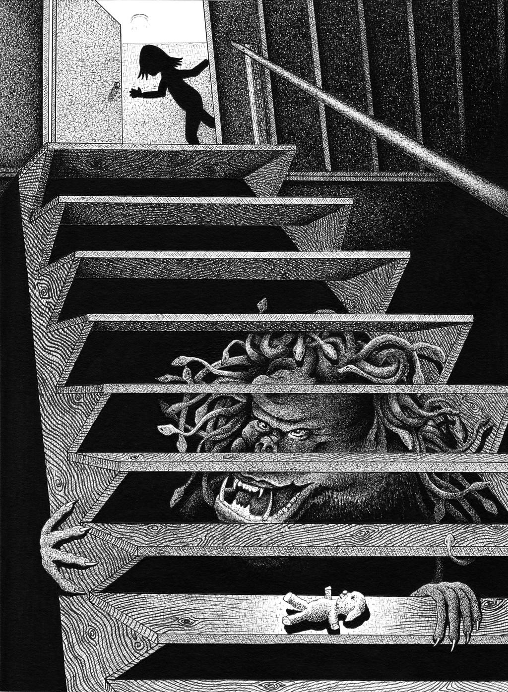 The Basement Stairs By Ronmonroe On DeviantArt