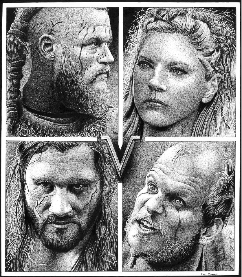 Vikings Tribute by ronmonroe