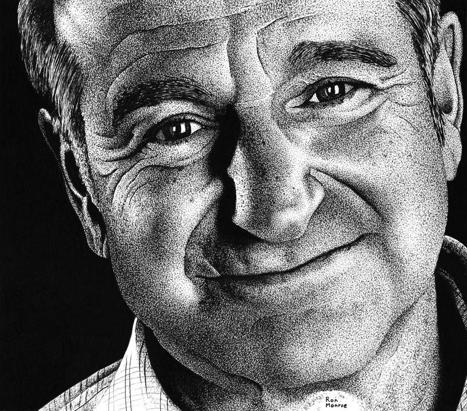 Robin Williams by ronmonroe
