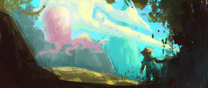 Henry the Octopus Spitpaint 1