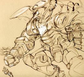 Iron Man x Iron Hulk