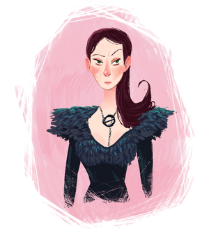 A FIERCE Sansa