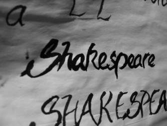 Shakespeare font by mauriciojofre