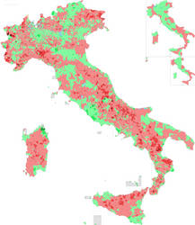 Population growth in Italy since 2011