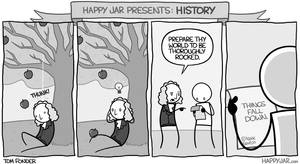 Happy Jar - Newton's Theory by tomfonder