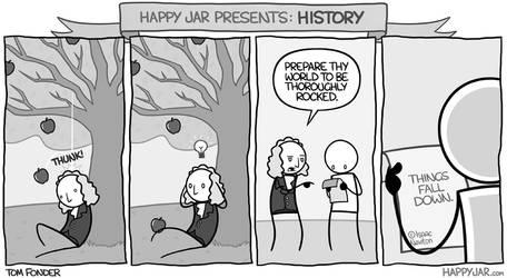 Happy Jar - Newton's Theory by tomfonder