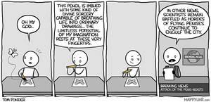 Happy Jar - Magic Pencil