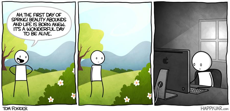 Happy Jar - Springtime by tomfonder