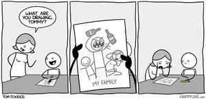Happy Jar - Family by tomfonder