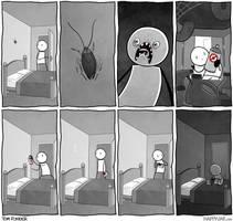 Happy Jar - Cockroach by tomfonder