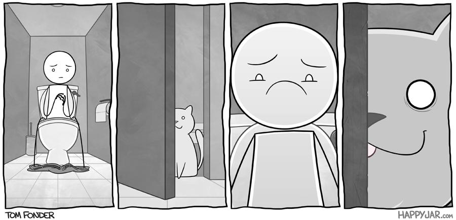 Happy Jar - Peeping Tom by tomfonder