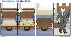 The Adventures of Business Cat - Briefcase