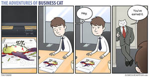 The Adventures of Business Cat - Pay Rise