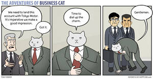 The Adventures of Business Cat - Charm