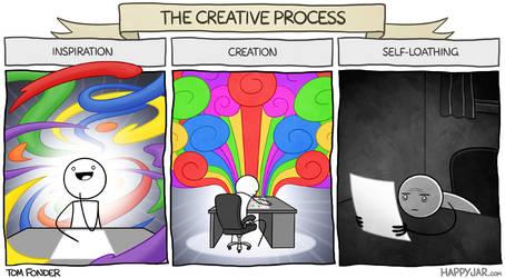 Happy Jar - The Creative Process by tomfonder