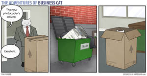 The Adventures of Business Cat - Photocopier