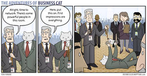 The Adventures of Business Cat - Impressions