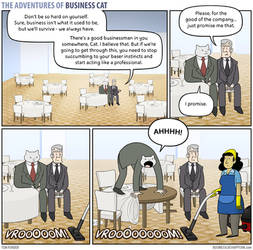 The Adventures of Business Cat - Promises by tomfonder