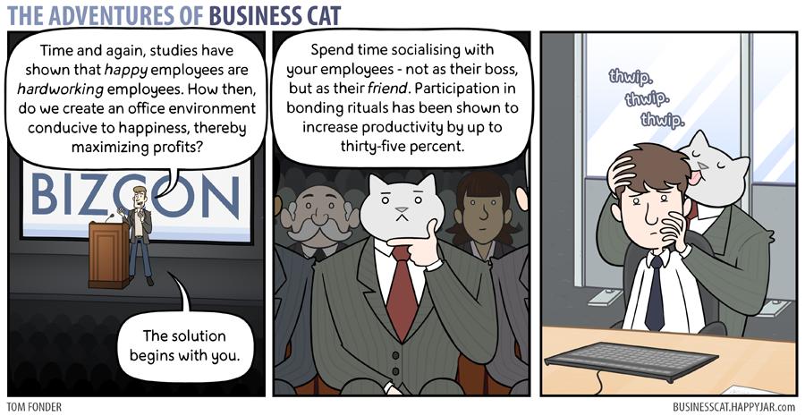 The Adventures Of Business Cat Bonding By Tomfonder On Deviantart