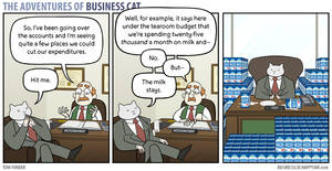 The Adventures of Business Cat - Budget