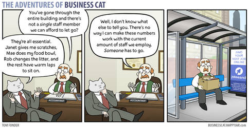 The Adventures of Business Cat - Numbers