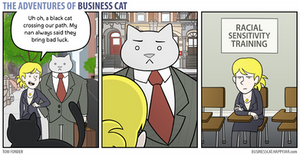 The Adventures of Business Cat - Superstition