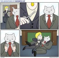 The Adventures of Business Cat - Trim
