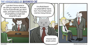 The Adventures of Business Cat - Drastic Action