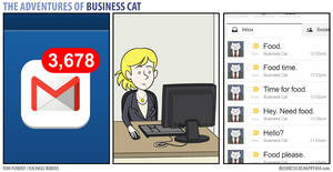 The Adventures of Business Cat - Messages