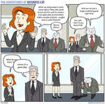 The Adventures of Business Cat - Decisions