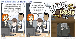The Adventures of Business Cat - Renovations