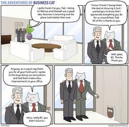 The Adventures of Business Cat - Gratitude