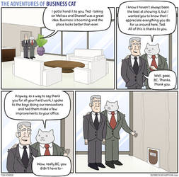 The Adventures of Business Cat - Gratitude