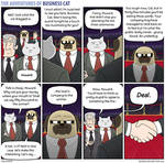 The Adventures of Business Cat - Wager