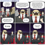 The Adventures of Business Cat - Obedience