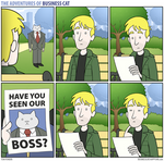 The Adventures of Business Cat - Found