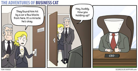 The Adventures of Business Cat - Recovery