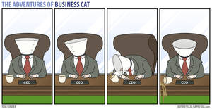 The Adventures of Business Cat - Cone