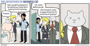 The Adventures of Business Cat - Fixed