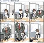 The Adventures of Business Cat - Bee Line