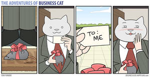 The Adventures of Business Cat - Gift