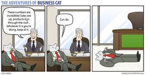 The Adventures of Business Cat - Productivity