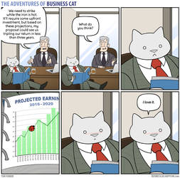 The Adventures of Business Cat - Proposal