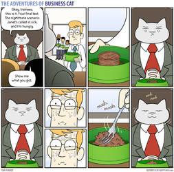 The Adventures of Business Cat - Judgement