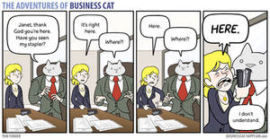 The Adventures of Business Cat - Lost and Found by tomfonder