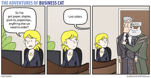 The Adventures of Business Cat - Order