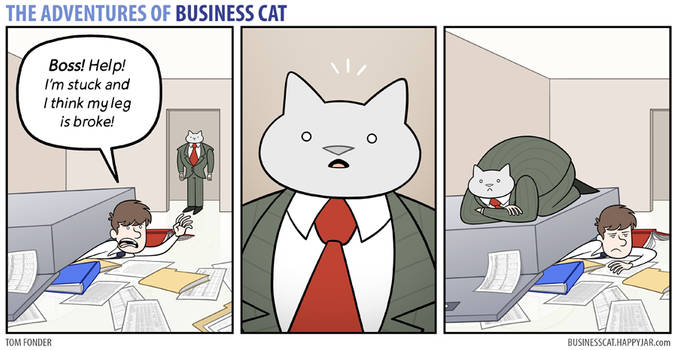 The Adventures of Business Cat - Emergency